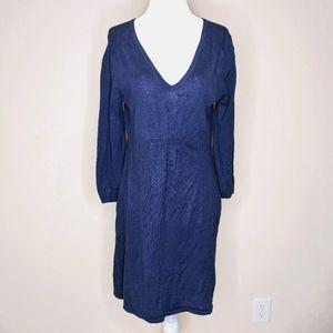 Boden blue sweater dress